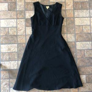Caslon black a-line dress